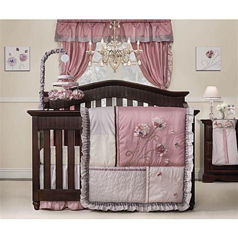 Kids Line Fleur Crib Bedding Collection Bed Bath Beyond Line Crib Bedding