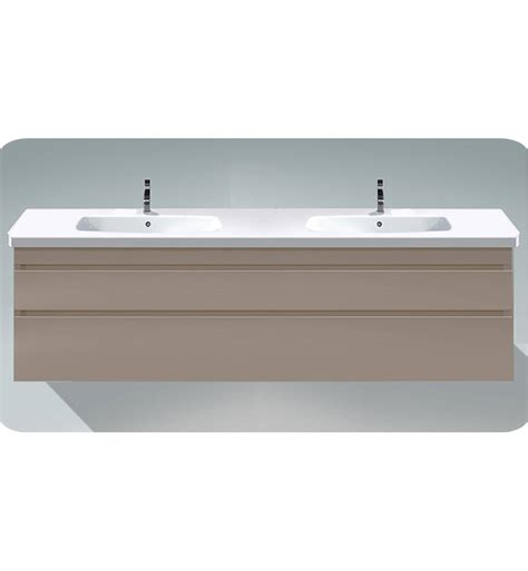 Modern Wall Mounted Bathroom Vanities Duravit Ds6498 Durastyle Wall Mounted Sink Modern Bathroom Vanity Unit