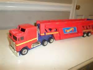 Wheels Car Carrier Semi Truck 1986 Mattel Wheels Semi Truck Car Carrier Transporter