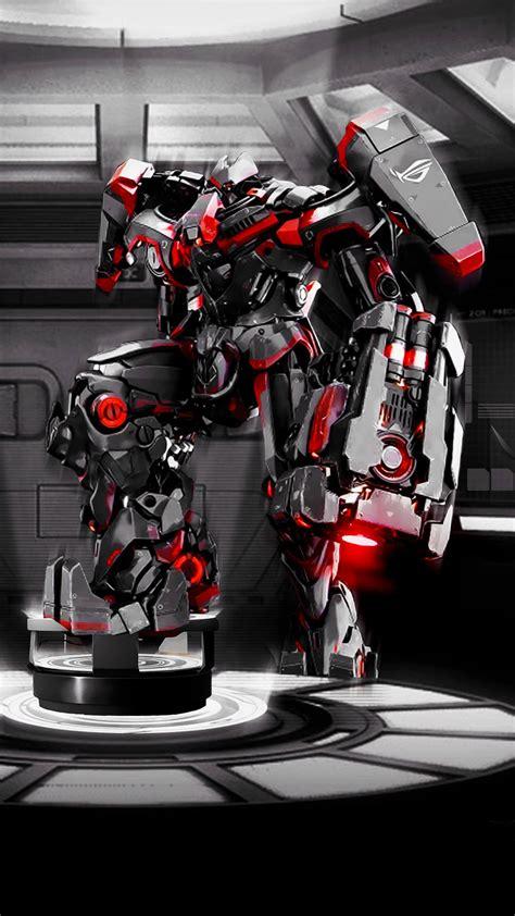 asus rog robot wallpaper  iphone  pro max