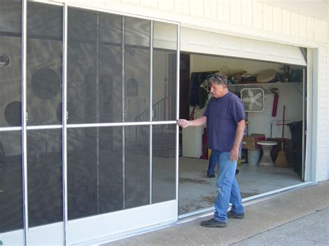 Screen Doors For Garages With Sliding Doors by 2017 Glass Garage Door With Screen Cost Quality