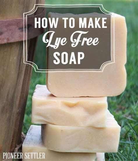 How To Make Handmade Soap Without Lye - make lye free soap on the homestead soaps and