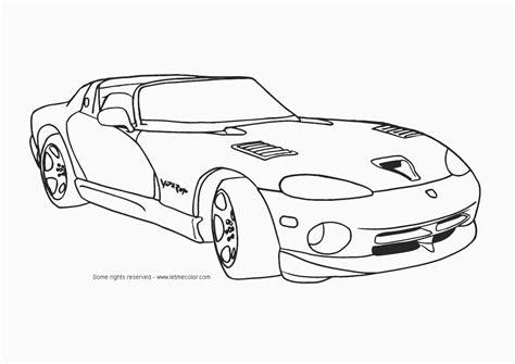 corvette coloring pages    print