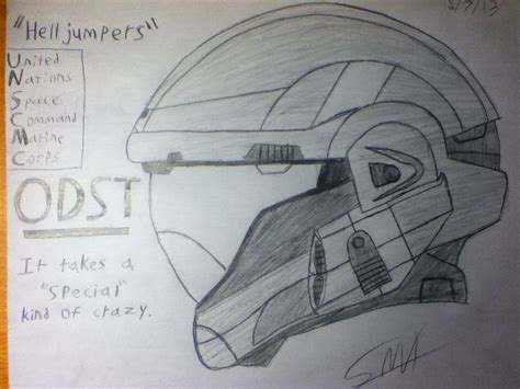 sketch it halo odst sketch it takes a special of by