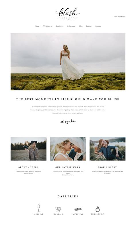 10 Best Exle Squarespace Websites Photographer Edition Website Design Inspiration Best Squarespace Template For Photographers