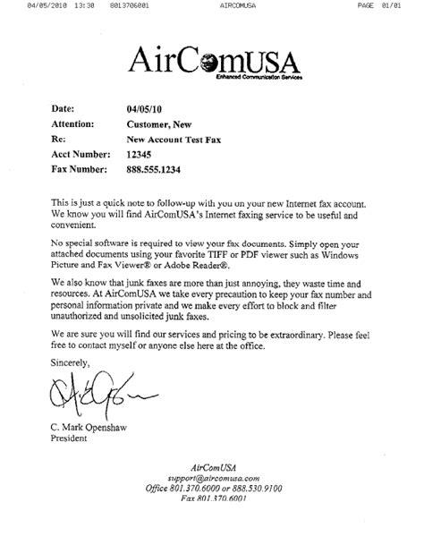 Fax Documents aircomusa