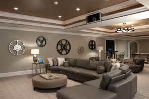 Wall Ideas For Basement Impressive Wall Decor Decorating Ideas Gallery In Basement Contemporary Design Ideas