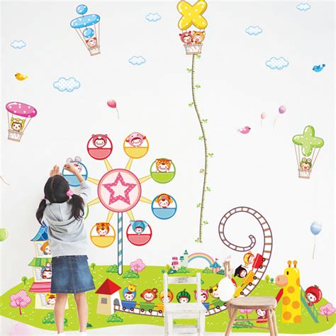 Kinder Wallpapers With 34 Items by Large Height Wall Decoration Stickers Nursery