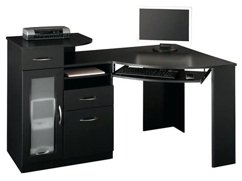 small black desk with hutch desk black with hutch uk small writing drawers home living