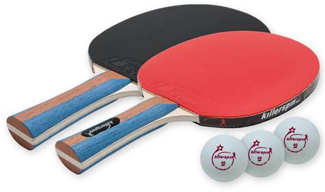 best table tennis paddle killerspin jetset 2 table tennis paddle set with balls