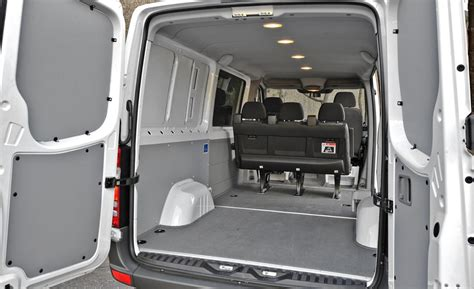 Interior Mercedes Sprinter by Car And Driver