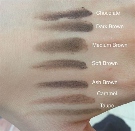 dipbrow colors 36 best images about brows on taupe dip brow