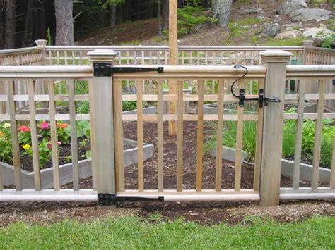 backyard gate lock yard