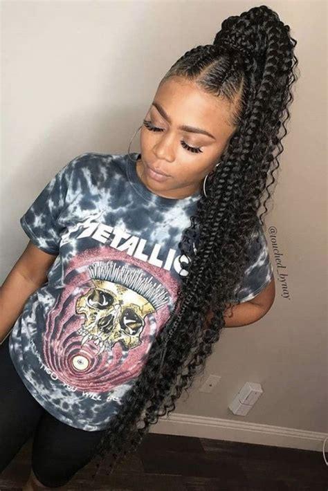 long weave ponytails  black women  copy