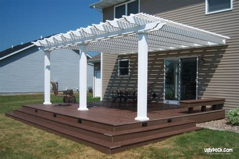 pergola with deck work with a minneapolis pergola construction