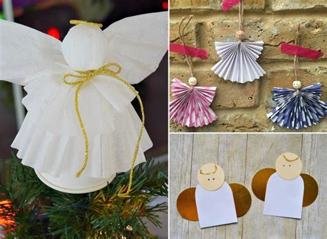 Einfache Bastelideen Weihnachten by Weihnachtsengel Basteln Mit Kindern Zum Dekorieren Zu