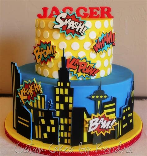 comic book superhero cakes cake decorating daily inspiration ideas superhero cake