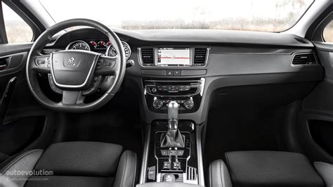 peugeot 508 interior 2016 2015 peugeot 508 review autoevolution