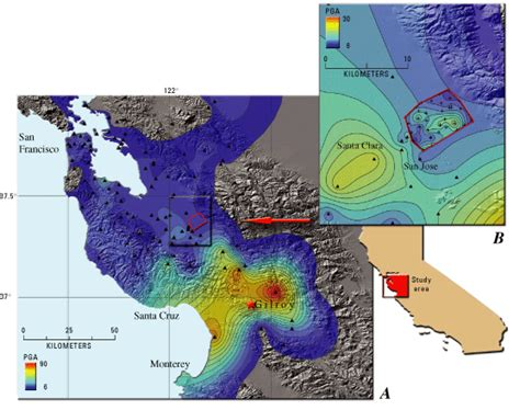 earthquake gilroy usgs fact sheet 046 03 anss reducing the devastating