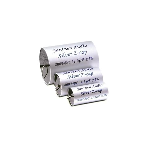 jantzen capacitors review jantzen audio silver z cap capacitor 800v 0 47 181 f audiophonics
