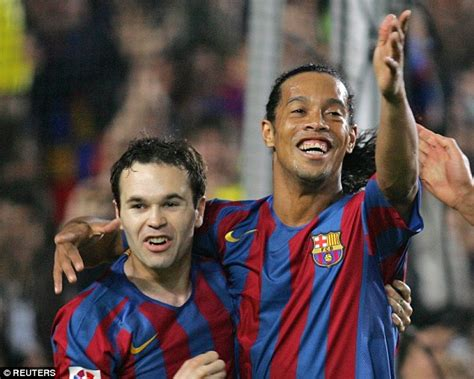 the artist being iniesta 147223233x andres iniesta reveals how ronaldinho 3am prank call claiming he was joining real madrid led to