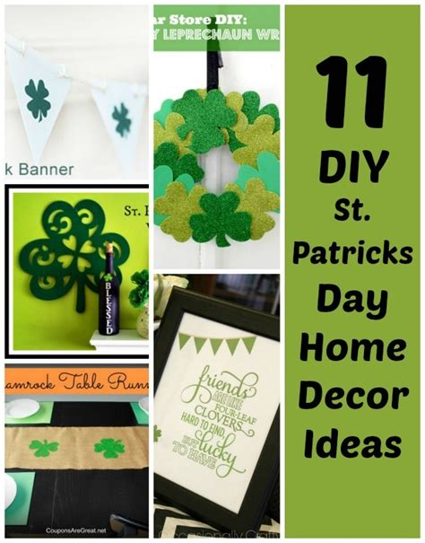 st s day home decorations 11 diy st s day decorations for your home