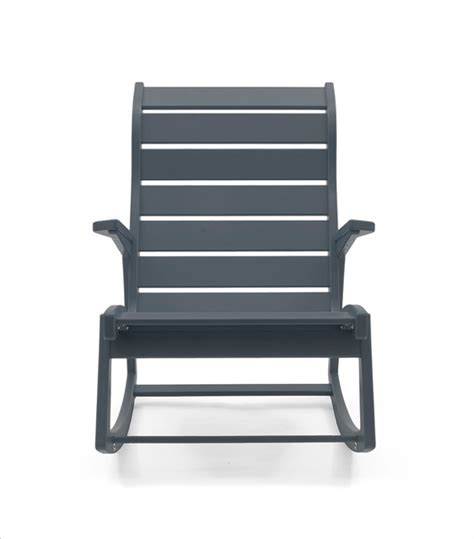 high back rocking chair outdoor rapson outdoor rocking chair high back contemporary