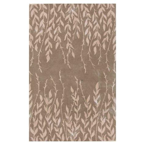 kas rugs bob mackie home beige tranquility 3 ft 3 in x 5