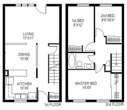 800 Sq Ft House Plans 3 Bedroom by 3 Bedroom 800 Square Foot House Plans Search