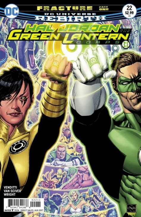 hal and the green lantern corps vol 4 fracture rebirth nerdly 187 comics 981 green lantern corps 22