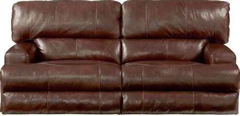 lay flat reclining sofa wembley walnut lay flat reclining sofa from catnapper