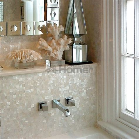 25 best ideas about of pearl backsplash on