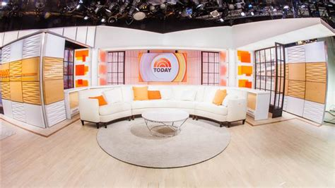 today show set nbc s today show unveils new look studio tvnewser