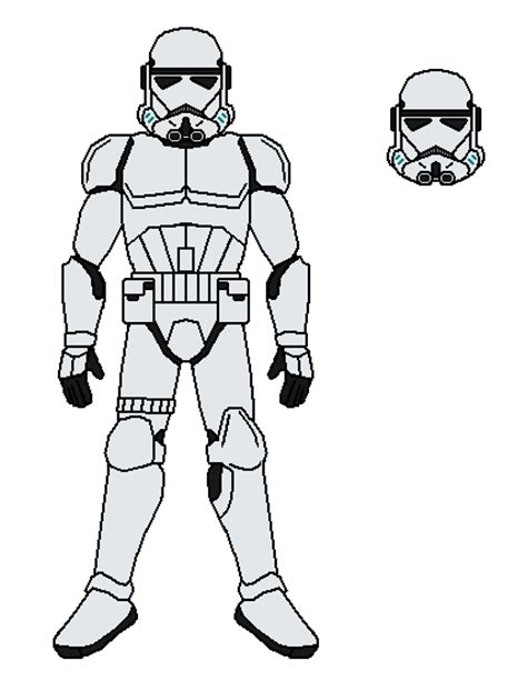 stormtrooper star wars 7 coloring coloring pages