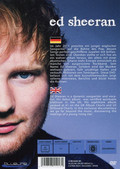 biography about ed sheeran ed sheeran the story his life the hits synopsis