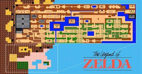 legend of zelda overworld map if all else fails a reminder of the times zelda ii fell