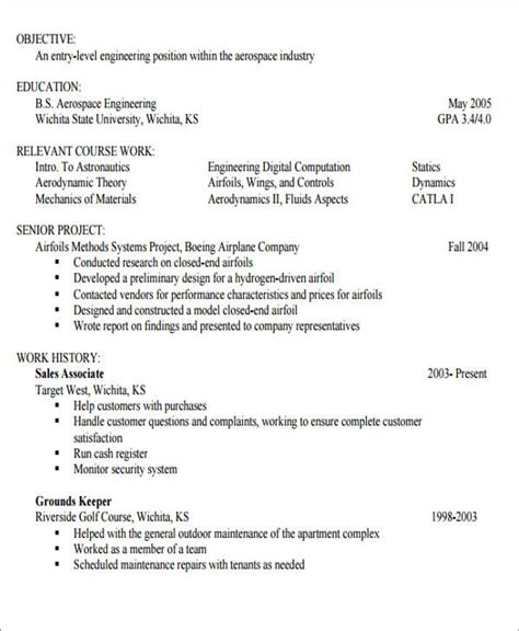 Generic Resume Objective by Generic Resume Objective 5 Exles In Word Pdf