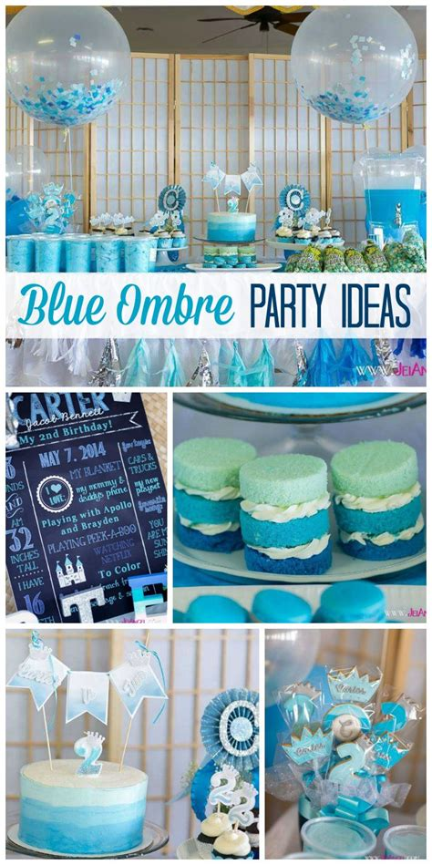 25 best ideas about blue birthday themes on