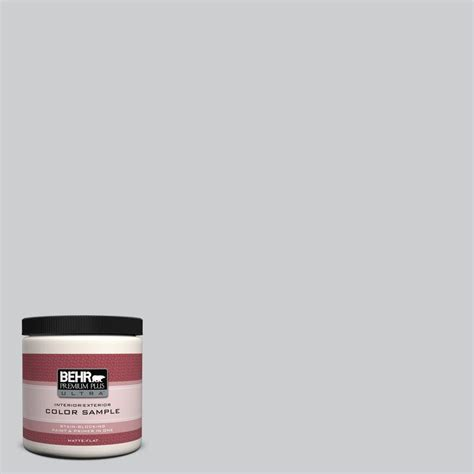 behr premium plus ultra 8 oz 770e 2 silver screen color interior exterior paint sle 770e 2u