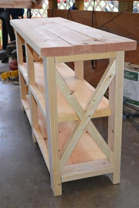 Furniture Building by Diy Furniture X Console Table Do It Yourself Home