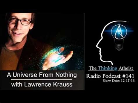 a universe from nothing tta podcast 141 a universe from nothing with lawrence krauss youtube
