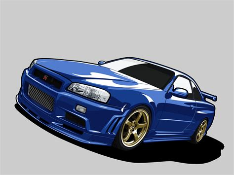 nissan skyline drawing nissan skyline r34 by kazirules on deviantart