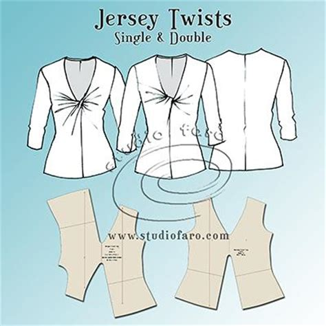 free pattern jersey top pattern insights jersey twist patterns