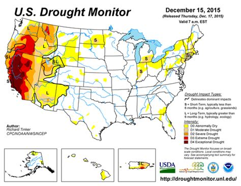 us weather drought map foresthill weather nws climate prediction center