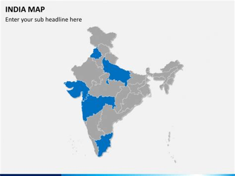 india map ppt template editable india map for powerpoint sketchbubble