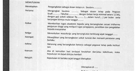 contoh surat pernyataan bukan pns contoh bu