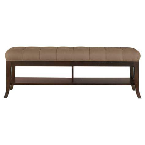 bedside bench bench bedside hudson street with a frame made of wood