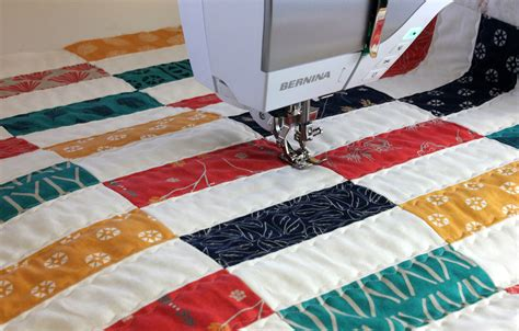 Best Bernina For Quilting by Simple Strips Quilt Along Part 4 Decorative Stitch