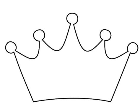 coloring page crown crown drawing coloring pages