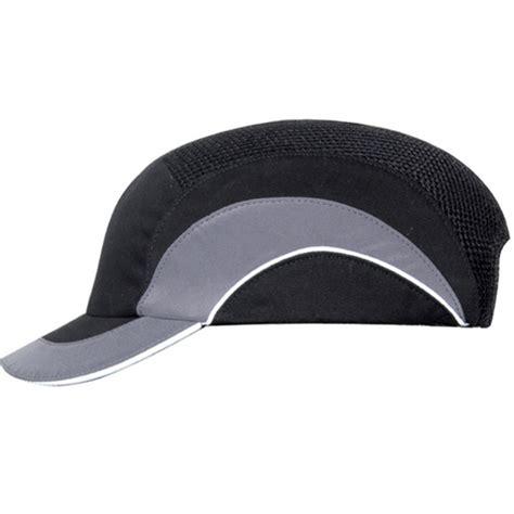 Klep 25 22 Batang 45mm jsp baseballcap hardcap a1 kleur antraciet grijs stootcap korte klep
